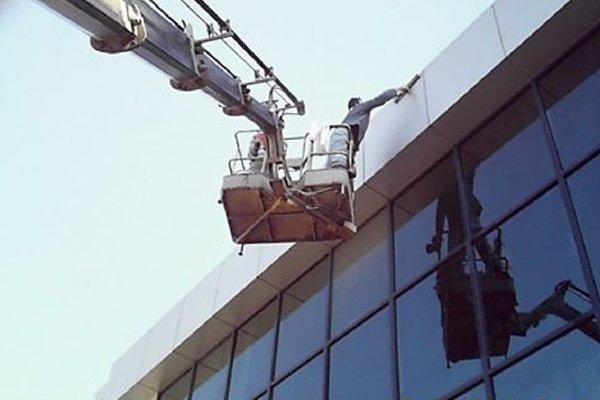 Yenibosna dış cephe cam temizlik firmaları